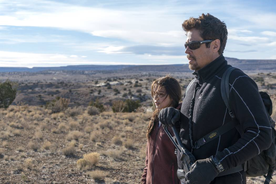 "Benicio Del Toro and Isabela Moner star in ""Sicario: Day of the Soldado."" (Richard Foreman, Jr./Sony Pictures Entertainment)"