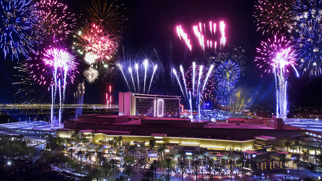 Red Rock Resort will host a free community fireworks show at 9 p.m. on July 4. (Summerlin)