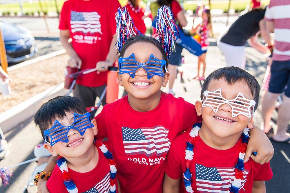 More than 40,000 people are expected to attend the 2018 Summerlin Council Patriotic Parade in the master-planned community of Summerlin. (Summerlin)