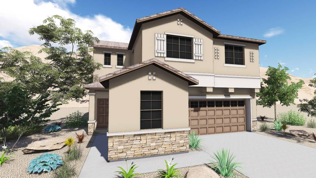 Homebuilder Summit Homes of Nevada and Presidio Residential Capital have announced that sales are open at Duneville Meadows, a new community in southwest Las Vegas. (Summit Homes of Nevada)