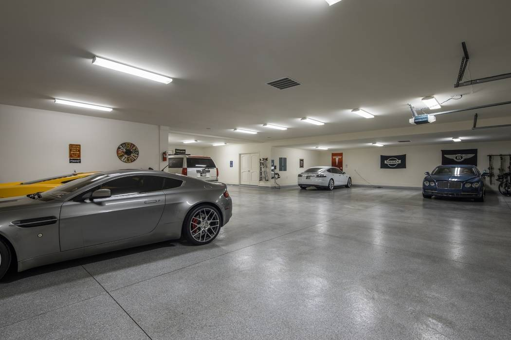 Ivan Sher Group The home has a 10-car garage.