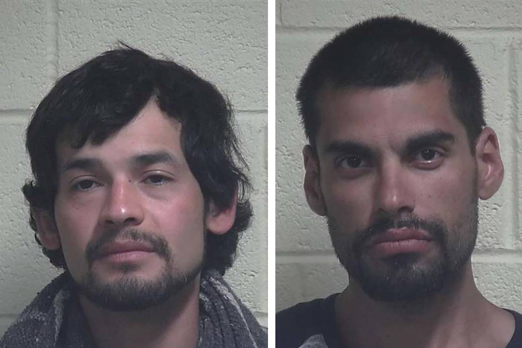Michael Salvador Torres, left, and Jose Martin Flores. (Iron County Utah Sheriff's Office)