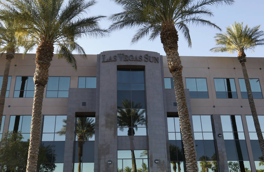 The exterior of an office building at 2275 Corporate Circle photographed on Friday, June 29, 2018, in Henderson. Bizuayehu Tesfaye/Las Vegas Review-Journal @bizutesfaye