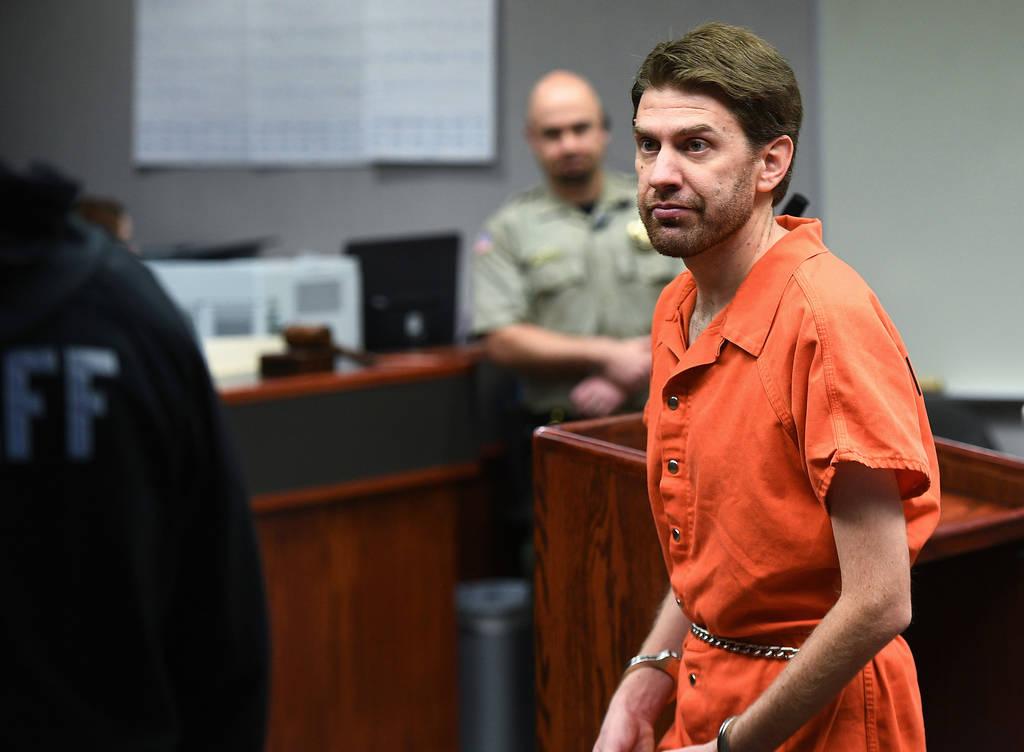 Samuel Shaffer appears during a court hearing in Cedar City, Utah, on Feb. 20, 2018. (James Dobson/The Spectrum via AP, Pool, File)