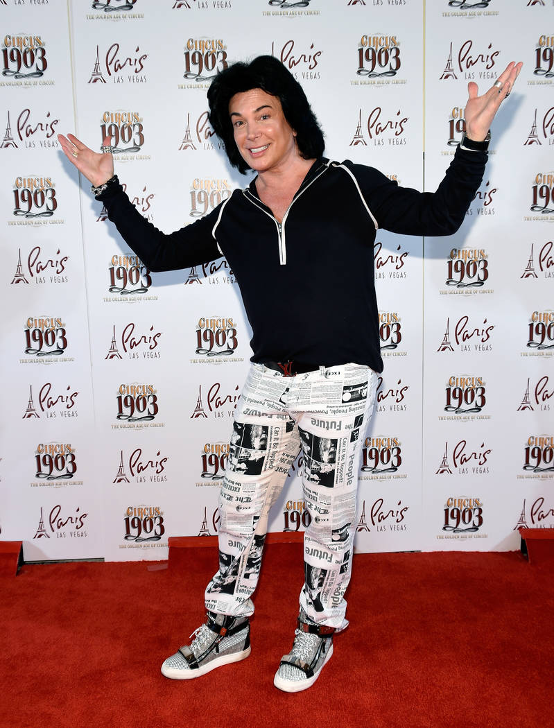 """'Divas' star Frank Marino arrives at the grand opening of """"Circus 1903"""" at Paris Las Vegas July 25. The Las Vegas entertainer will be featured in a British TV reality series that will wrap its fin ..."""