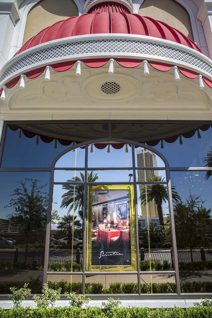 The soon-to-be open shopping center at Wynn Plaza on South Las Vegas Boulevard on Wednesday, June 27, 2018, in Las Vegas. Benjamin Hager Las Vegas Review-Journal @benjaminhphoto
