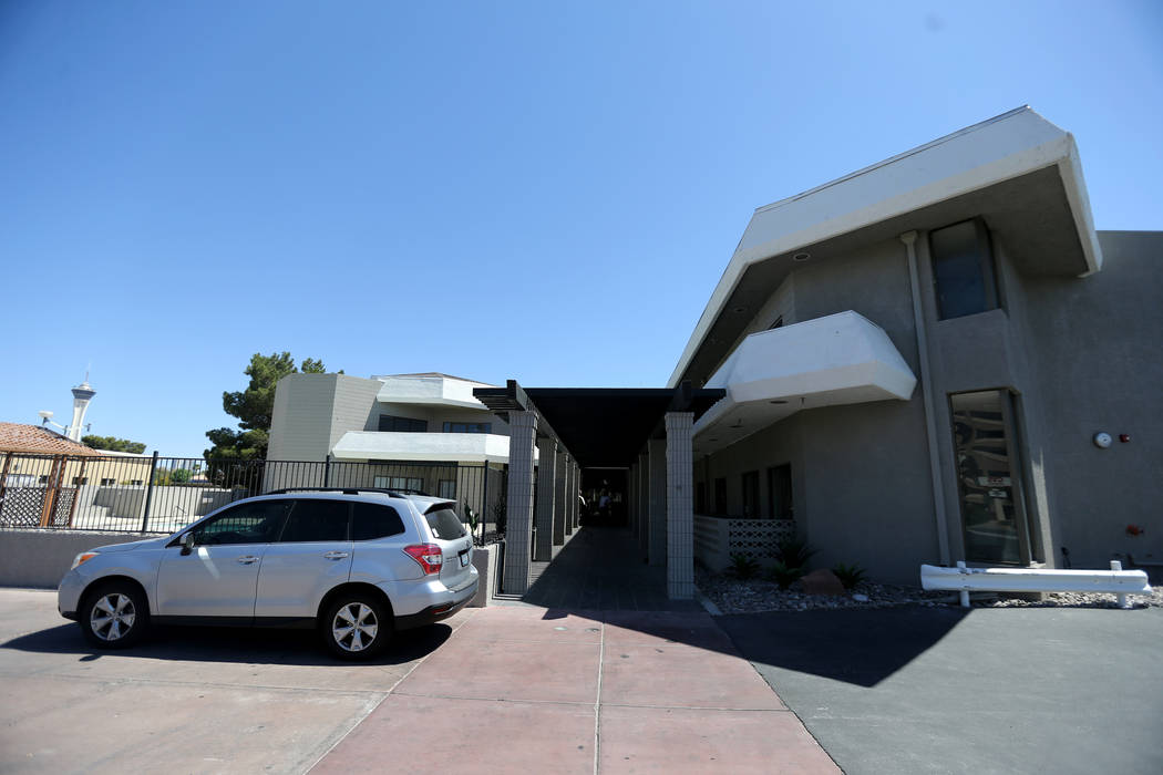 CrossRoads of Southern Nevada psychiatric urgent care facility at 2121 W. Charleston Blvd. in Las Vegas Wednesday, June 6, 2018. K.M. Cannon Las Vegas Review-Journal @KMCannonPhoto