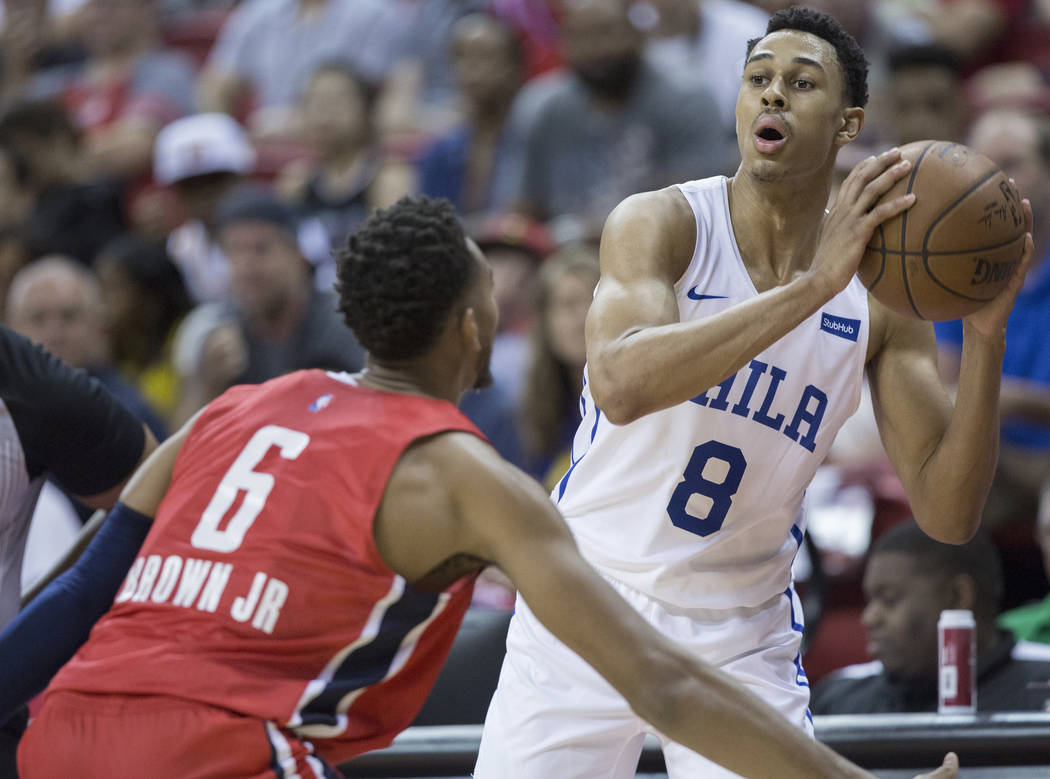 huge discount 23127 519b3 Philadelphia 76ers rookie Zhaire Smith defies doubters | Las ...
