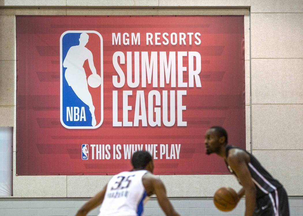 NBA Summer League on Friday, July 6, 2018, at the Thomas & Mack Center, in Las Vegas. Benjamin Hager Las Vegas Review-Journal @benjaminhphoto