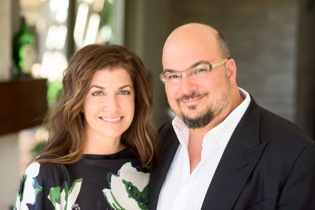 David Zentz Michelle and Anthony Zuiker, founders of Zuiker Press, which debuts Nov. 6 with two graphic novel-style books focusing on young people dealing with the impacts of divorce and cyberbul ...