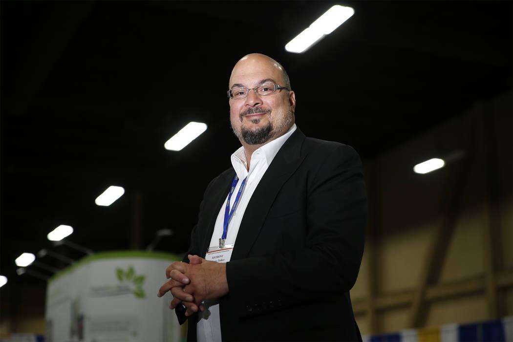 Anthony Zuiker, creator of CSI television shows, at the Mandalay Bay Convention Center in Las Vegas, Thursday, April 19, 2018. Erik Verduzco Las Vegas Review-Journal @Erik_Verduzco
