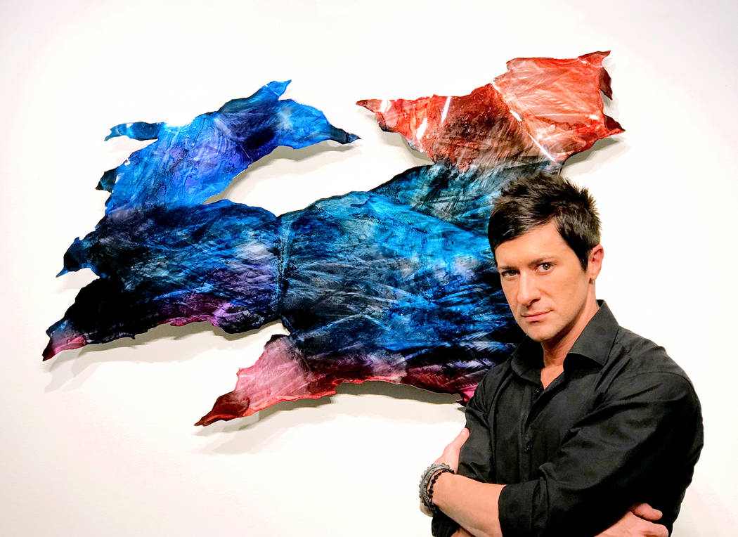 Metal artist Nicholas Yust, who's visiting Wyland Gallery for a July 6-7 meet-and-greet.