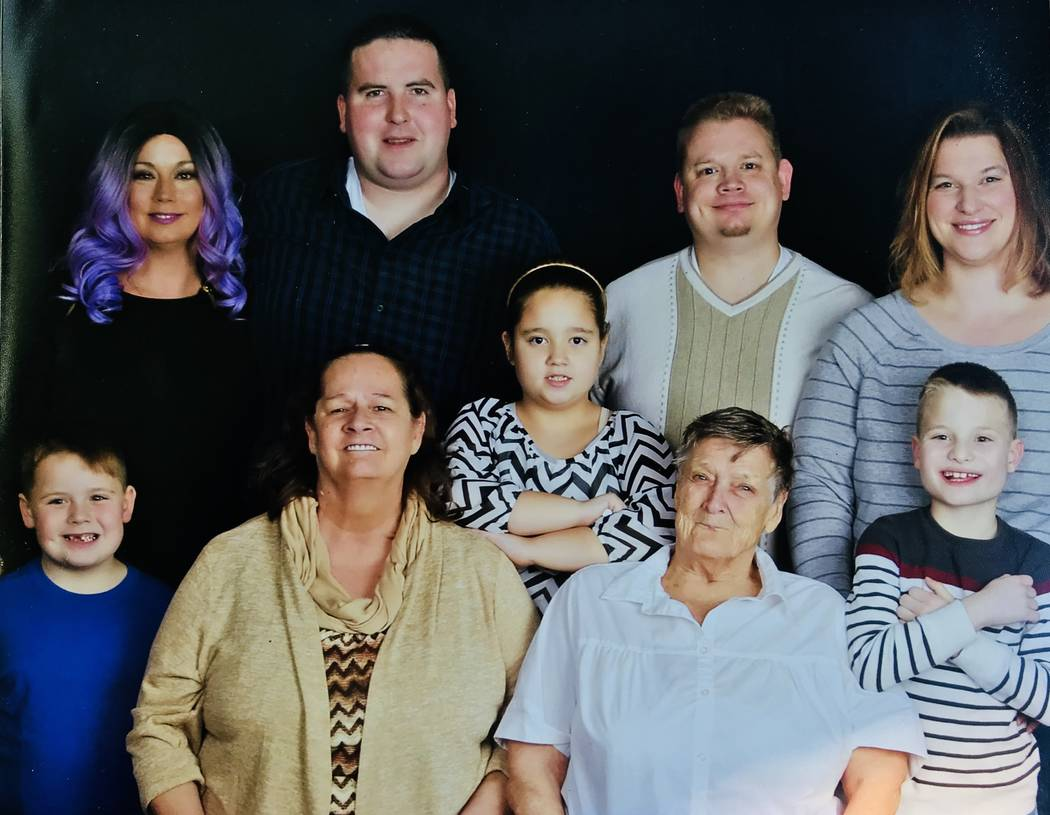 A family photo of Lalani Blackburn-Bill and Michael Blackburn. Photo courtesy of Michael Blackburn.