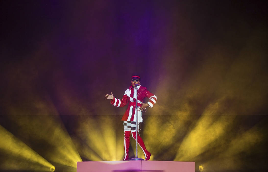 Janelle Monáe performs at The Pearl on Tuesday, June 26, 2018, at the Palms hotel-casino, in Las Vegas. Benjamin Hager Las Vegas Review-Journal @benjaminhphoto