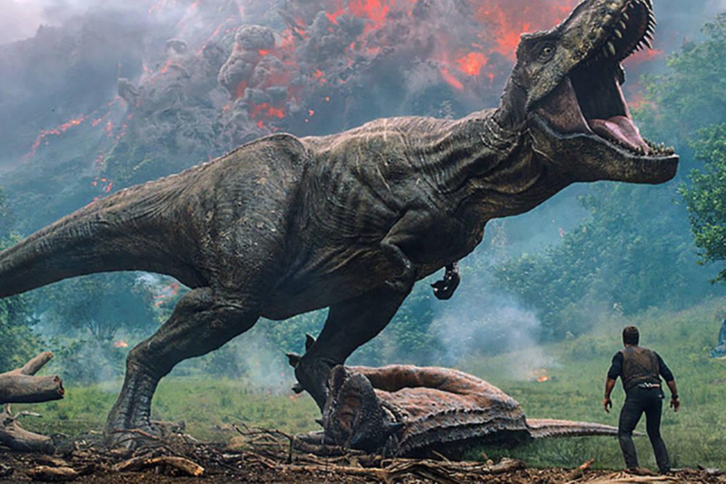 "A scene from ""Jurassic World: Fallen Kingdom."" (Universal Pictures via AP)"