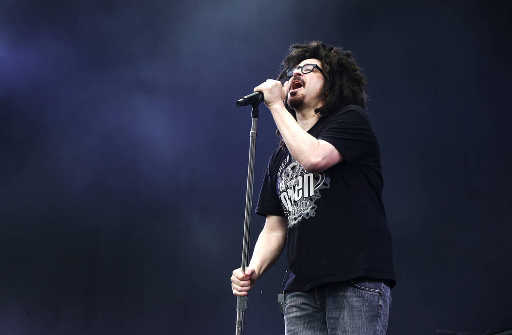 Adam Duritz of the band the Counting Crows performs at the Isle of Wight Festival on Friday, June 12, 2015 in Newport, Isle of Wight, England. (Photo by Jim Ross/Invision/AP)