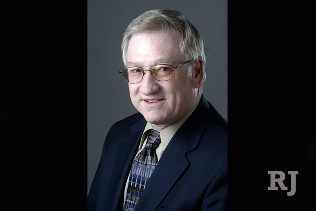 Clark County School District Associate Superintendent Edward Goldman (Las Vegas Review-Journal)