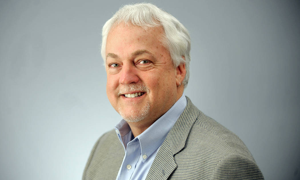 This undated photo shows Rob Hiaasen, Capital Gazette Deputy Editor. Hiaasen was one of the victims when an active shooter targeted the newsroom, Thursday, June 28, 2018 in Annapolis, Md. (The B ...