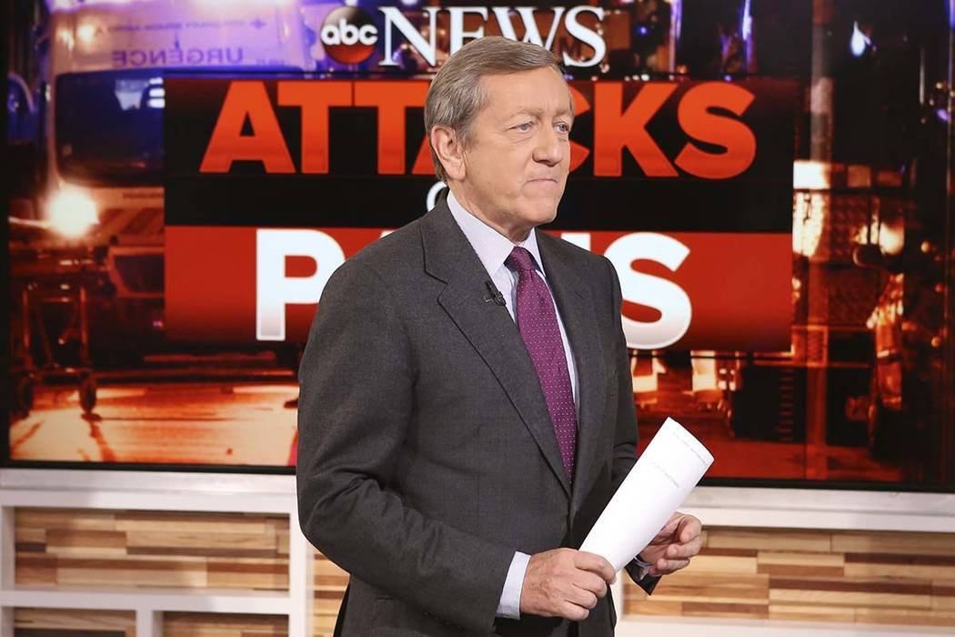 ABC suspended investigative reporter Ross Saturday, Dec. 2, 2017, for four weeks without pay his incorrect Michael Flynn report on Friday. (Fred Lee/ABC via AP)