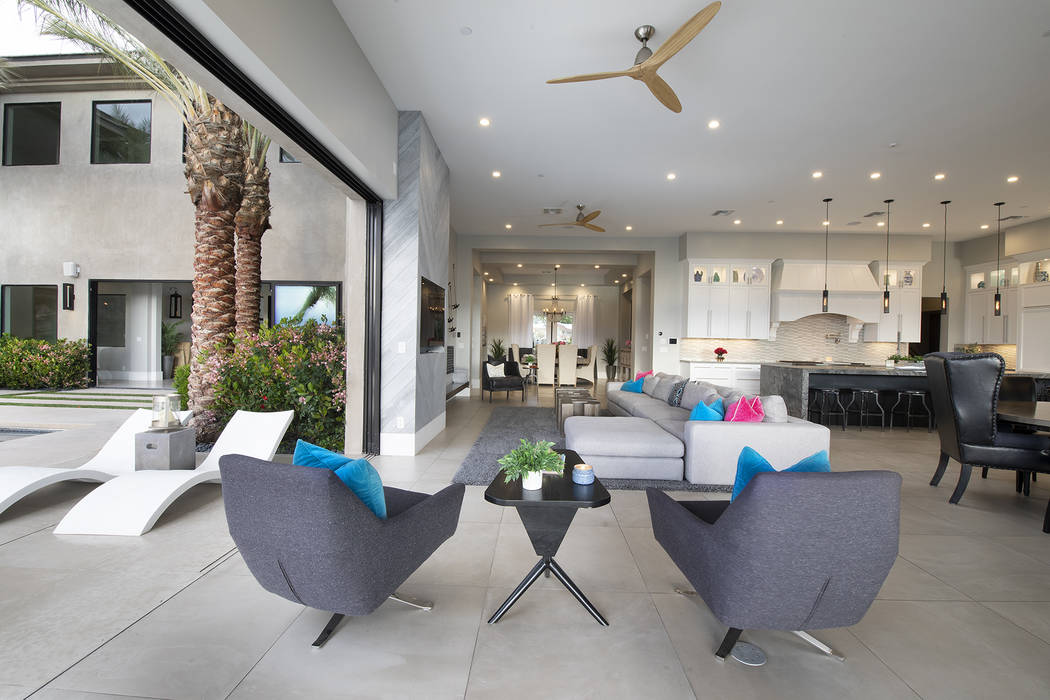 The home has indoor-outdoor living features. (Sotheby's International Realty)