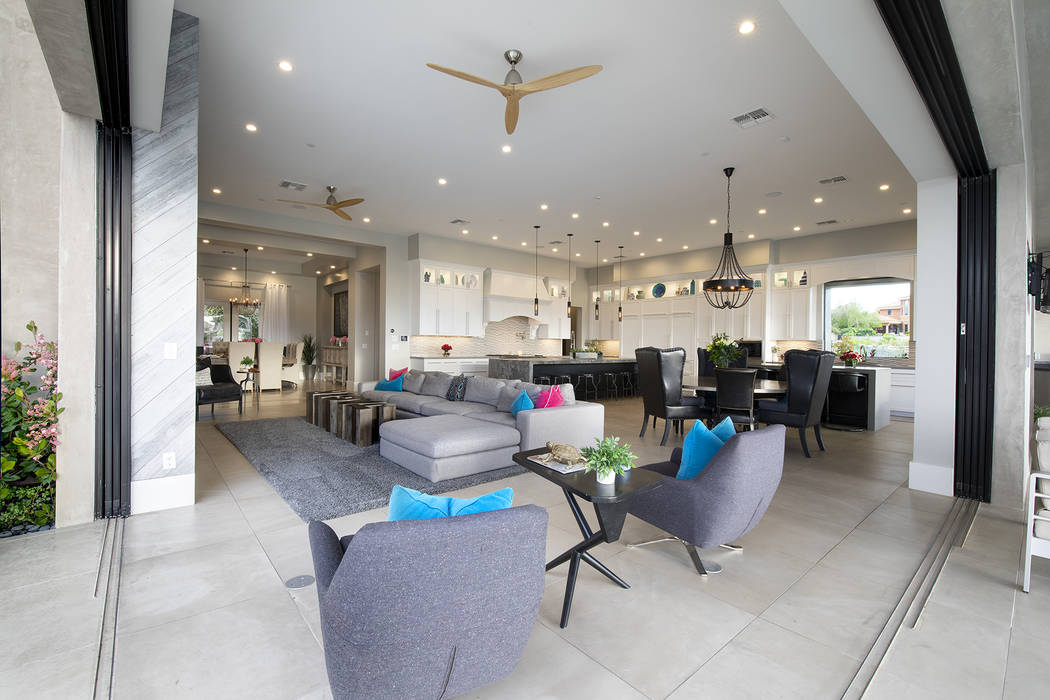 The design easily connects the indoor and outdoor areas. (Sotheby's International Realty)