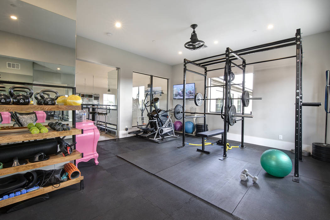 The gym. (Sotheby's International Realty)