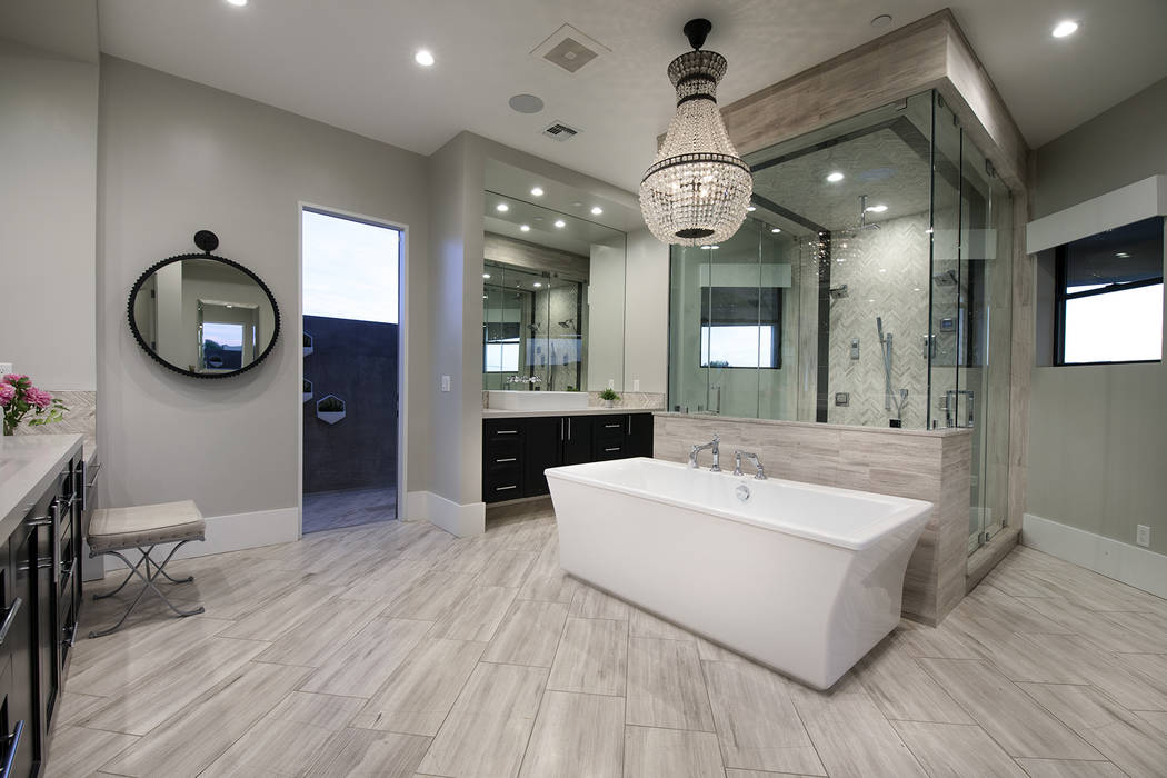 The master bath. (Sotheby's International Realty)