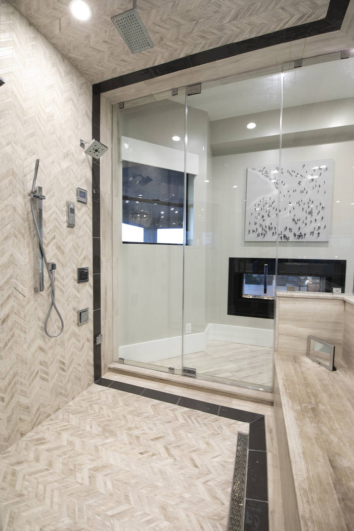 The master bath shower. (Sotheby's International Realty)