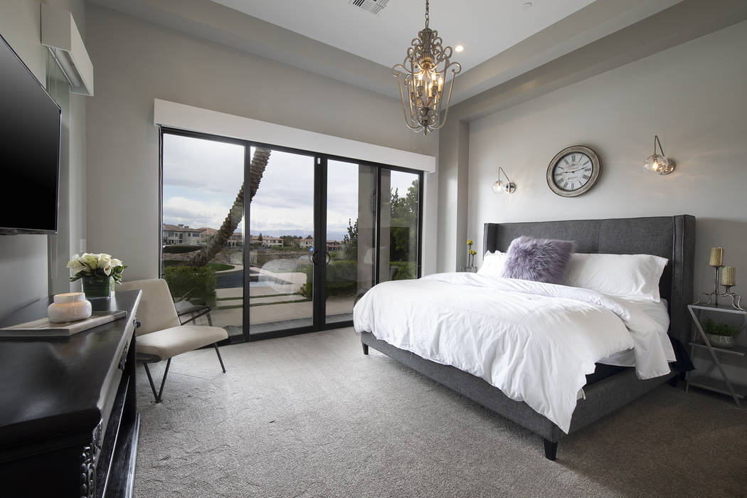 A secondary bedroom. (Sotheby's International Realty)