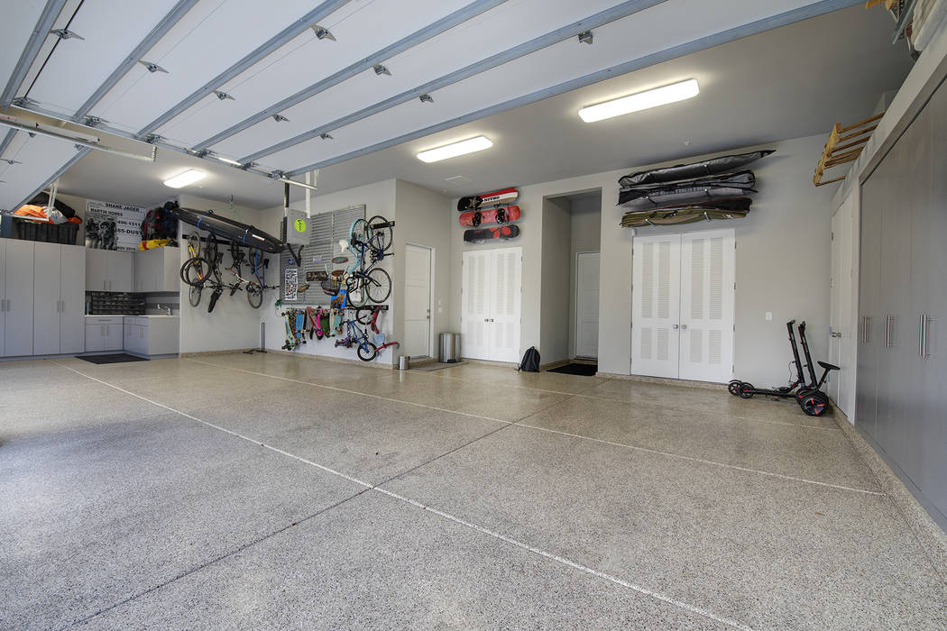 The garage. (Sotheby's International Realty)