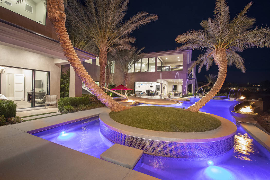 The backyard. (Sotheby's International Realty)