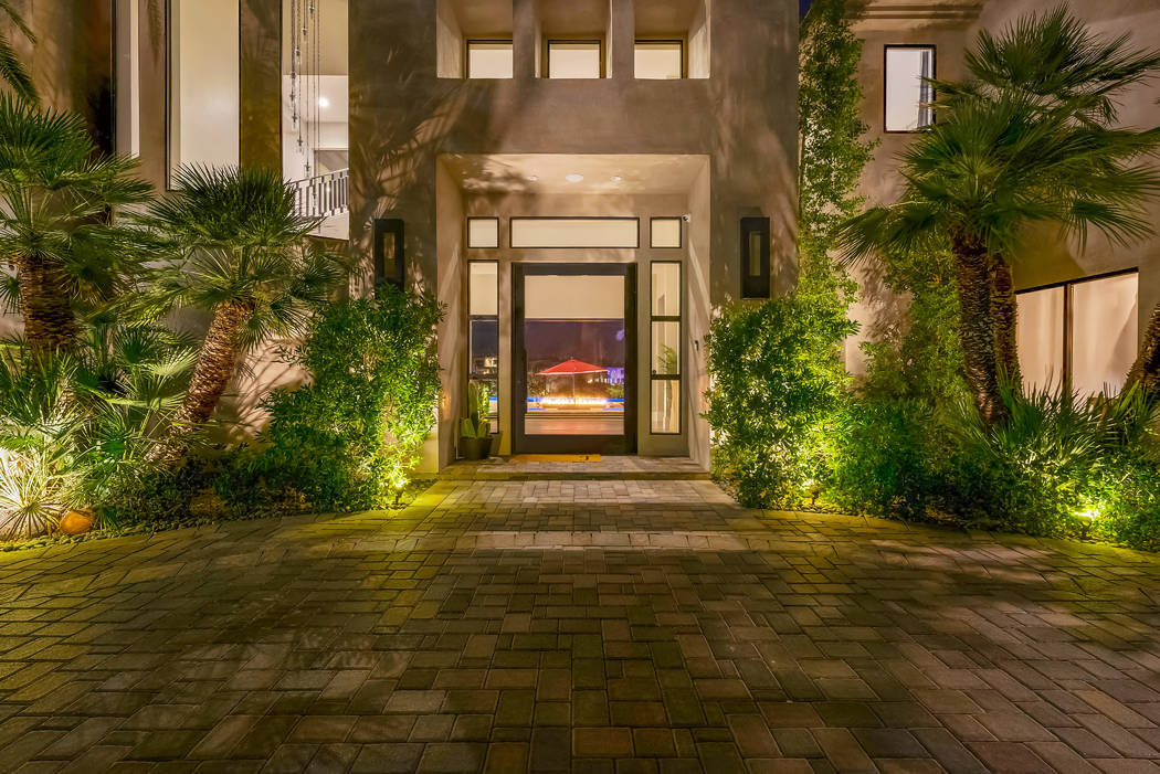 The entrance. (Sotheby's International Realty)