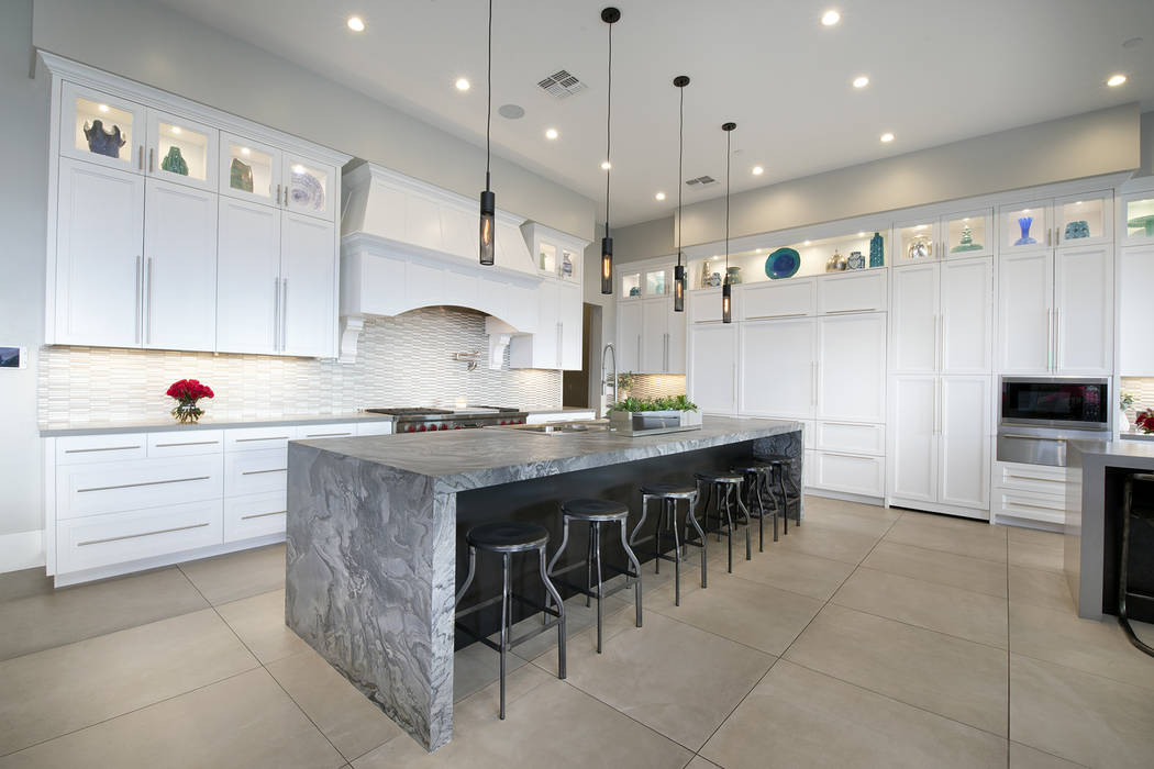 The kitchen. (Sotheby's International Realty)