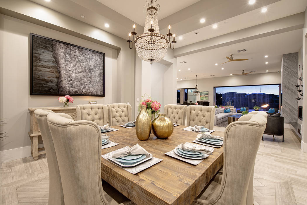 The formal dining room. (Sotheby's International Realty)