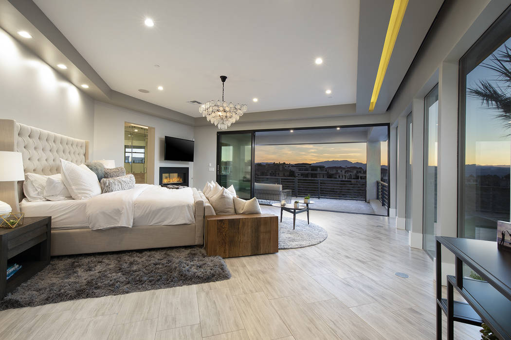The master bedroom. (Sotheby's International Realty)