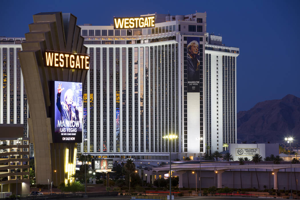 The Westgate In Las Vegas Richard Brian Review Journal