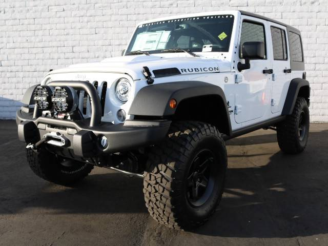 Chapman The 2018 Jeep Wrangler Unlimited AEV Rubicon at Chapman is ready for any obstacle you may encounter on your next exploration.