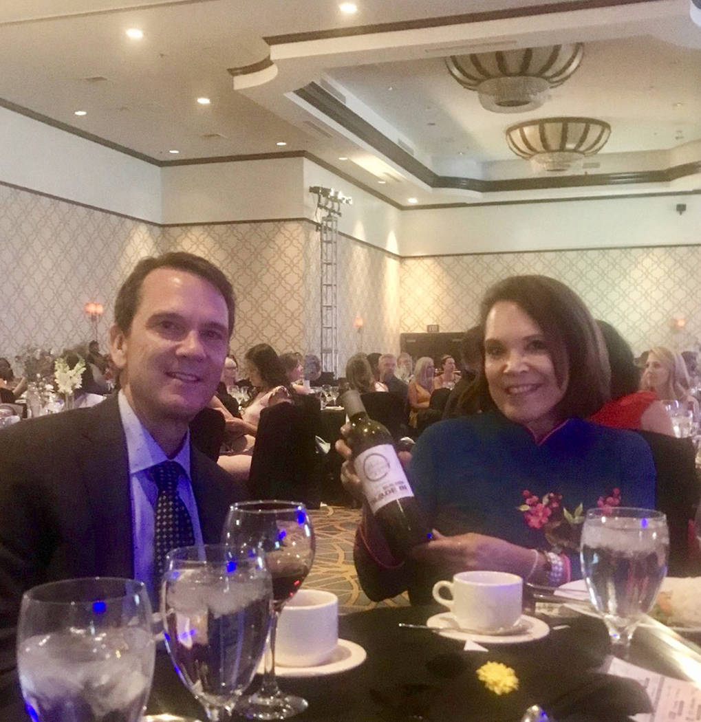 Robert and Robin Smith of the Nevada Builder Trade In Program attend the 2018 Silver Nugget Awards where several of the program's builder-partners were recognized for excellence. (Smith Team at ...
