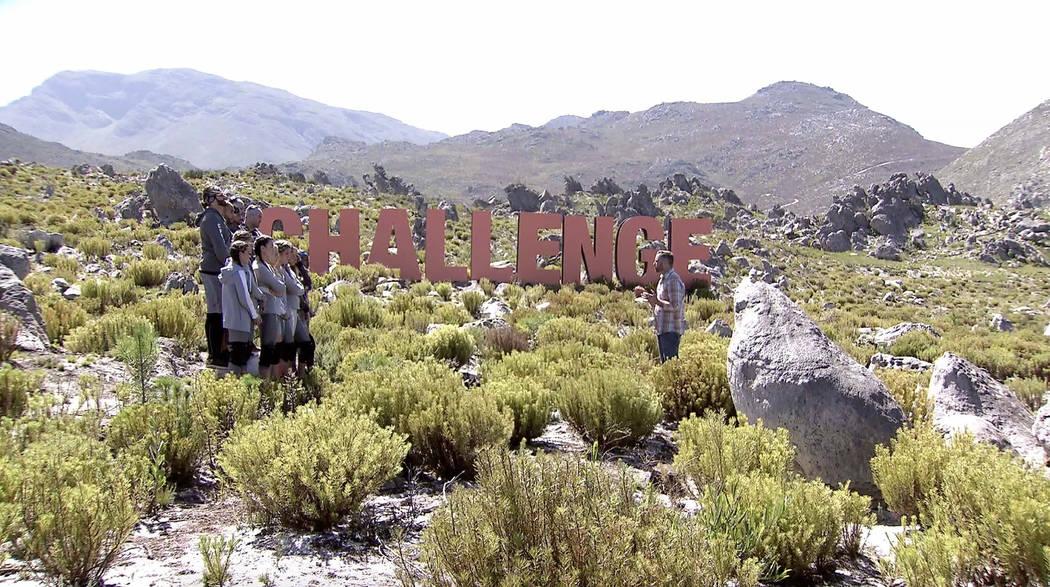 """TJ Lavin hosts MTV's """"The Challenge: Final Reckoning."""" (MTV)"""