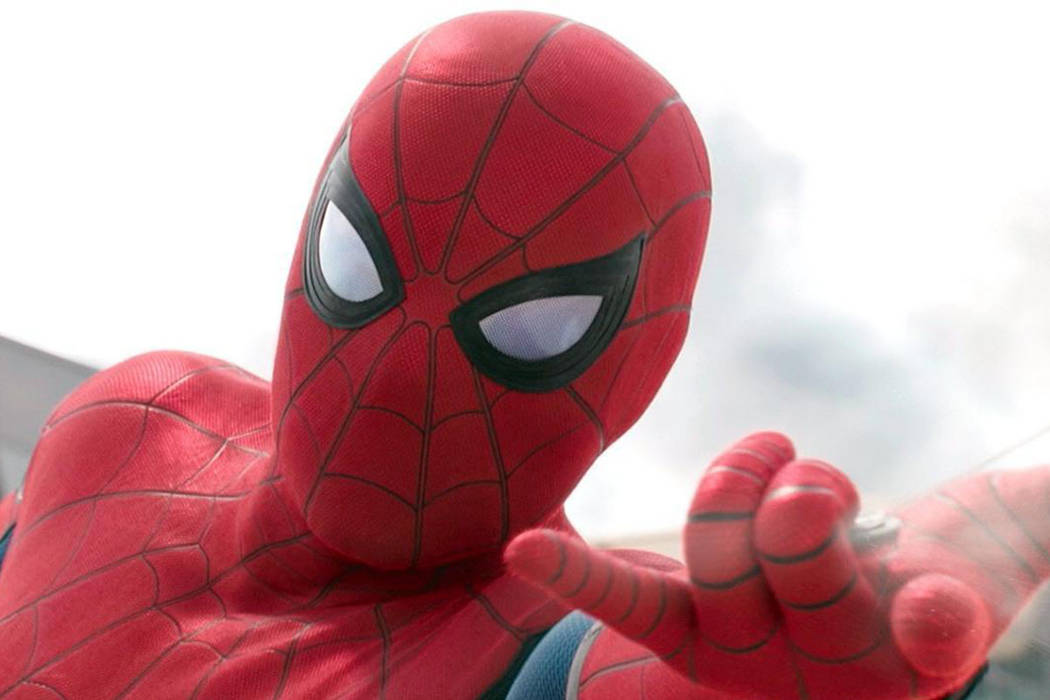 """Tom Holland stars as the title hero in """"Spider-Man: Homecoming."""" (Courtesy)"""