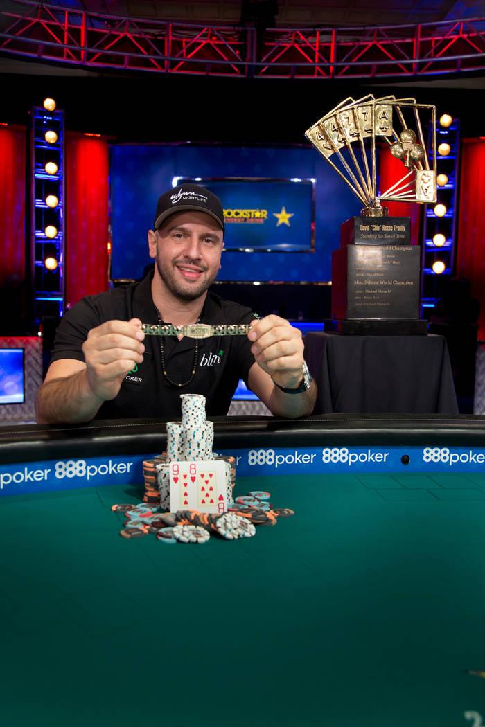 Michael Mizrachi (photo courtesy World Series of Poker)