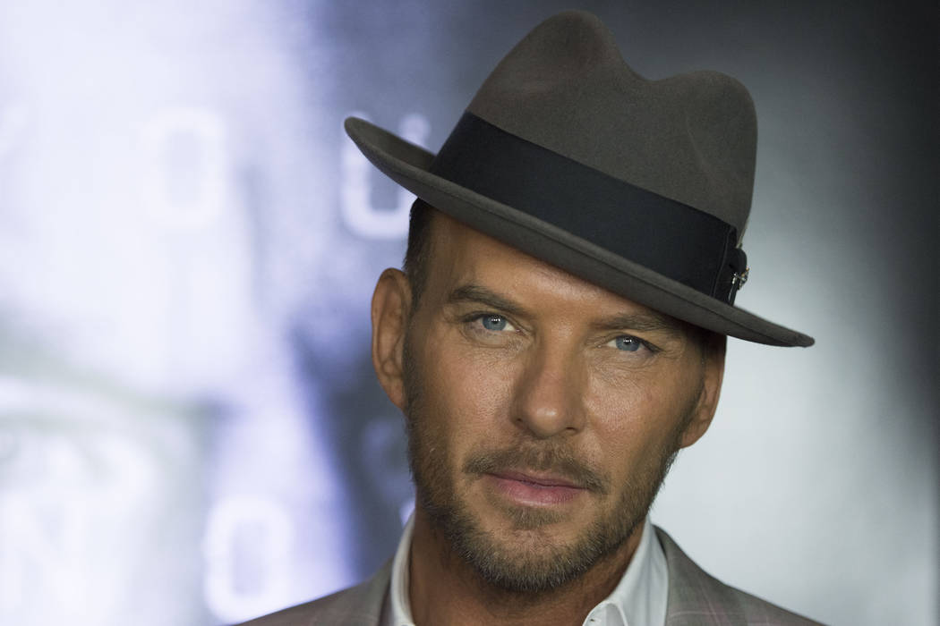 Matt Goss poses on the red carpet ahead of the Las Vegas premiere for the film Jason Bourne at Caesars Palace hotel-casino Monday, July 18, 2016. Jason Ogulnik/Las Vegas Review-Journal