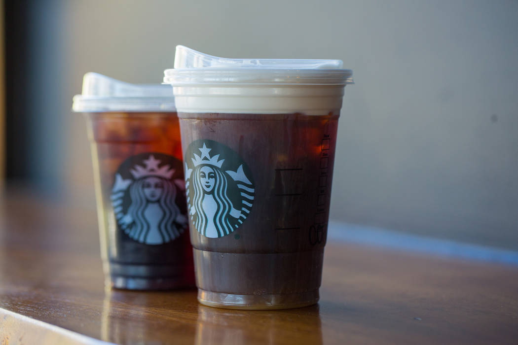 Starbucks has announced it will use new lids that are specifically made to not need straws. (Starbucks)