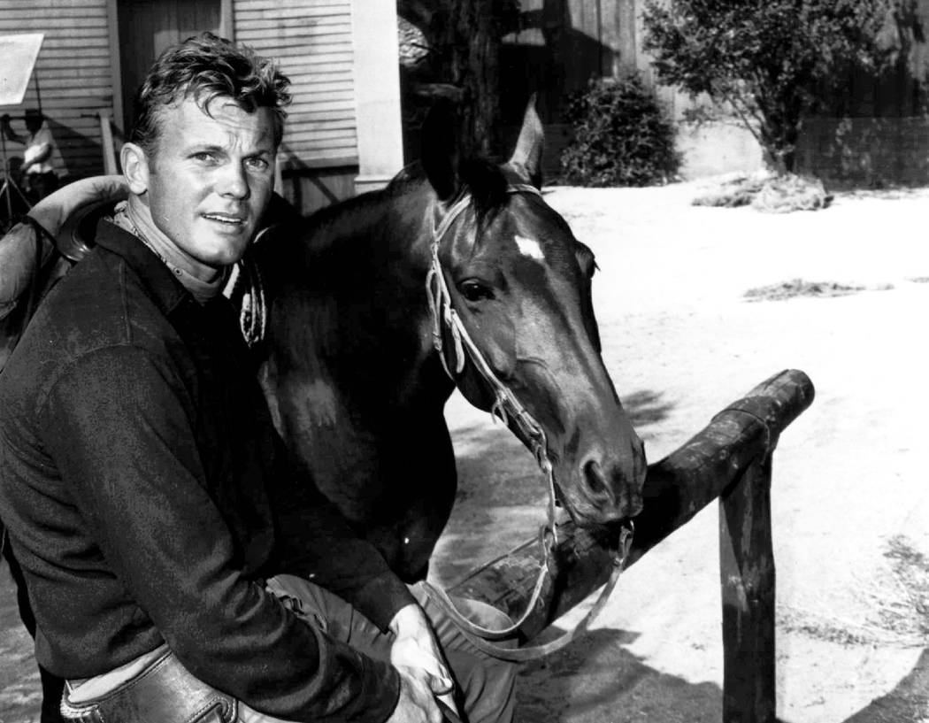 Actor Tab Hunter, shown April 3, 1967. The blond actor and singer who was the heartthrob of millions of teenage girls in the 1950s, and received new attention decades later when he revealed that ...