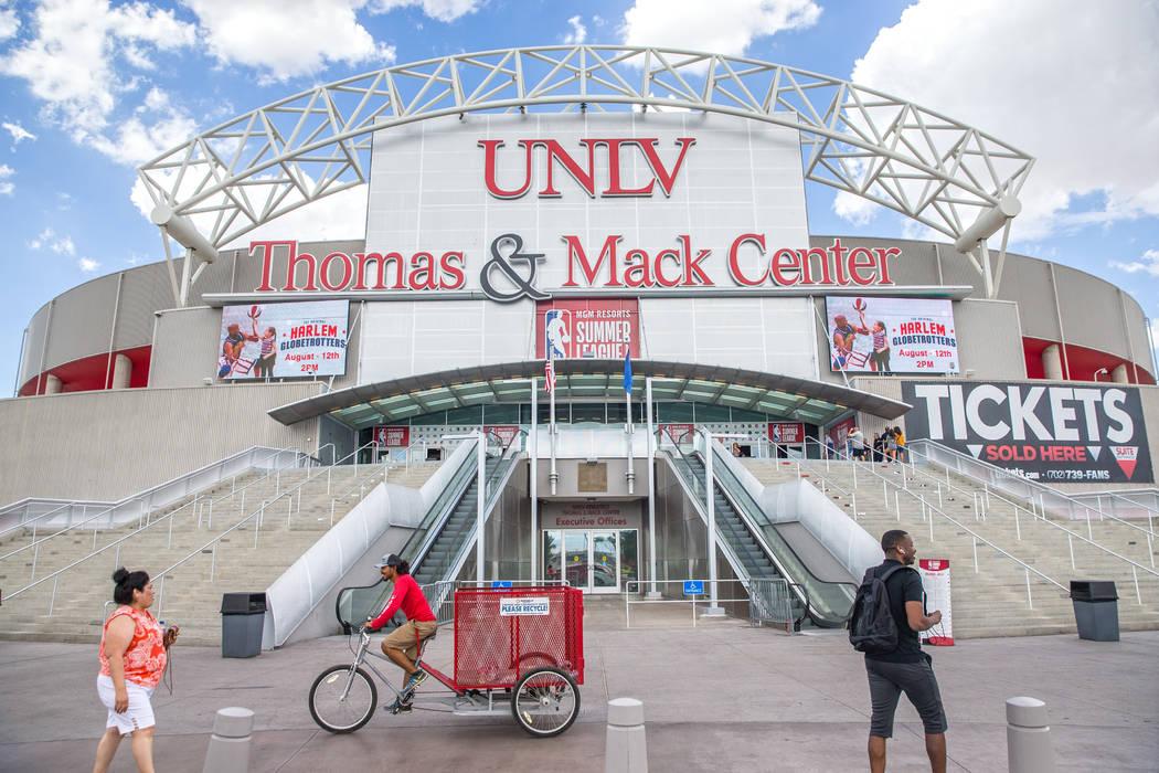 The NBA Summer League at the Thomas & Mack Center on Wednesday, July 11, 2018, in Las Vegas. Benjamin Hager Las Vegas Review-Journal @benjaminhphoto