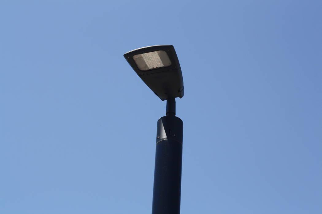 The solar street lights in MacDonald Highlands are designed to be modern. (MacDonald Highlands)