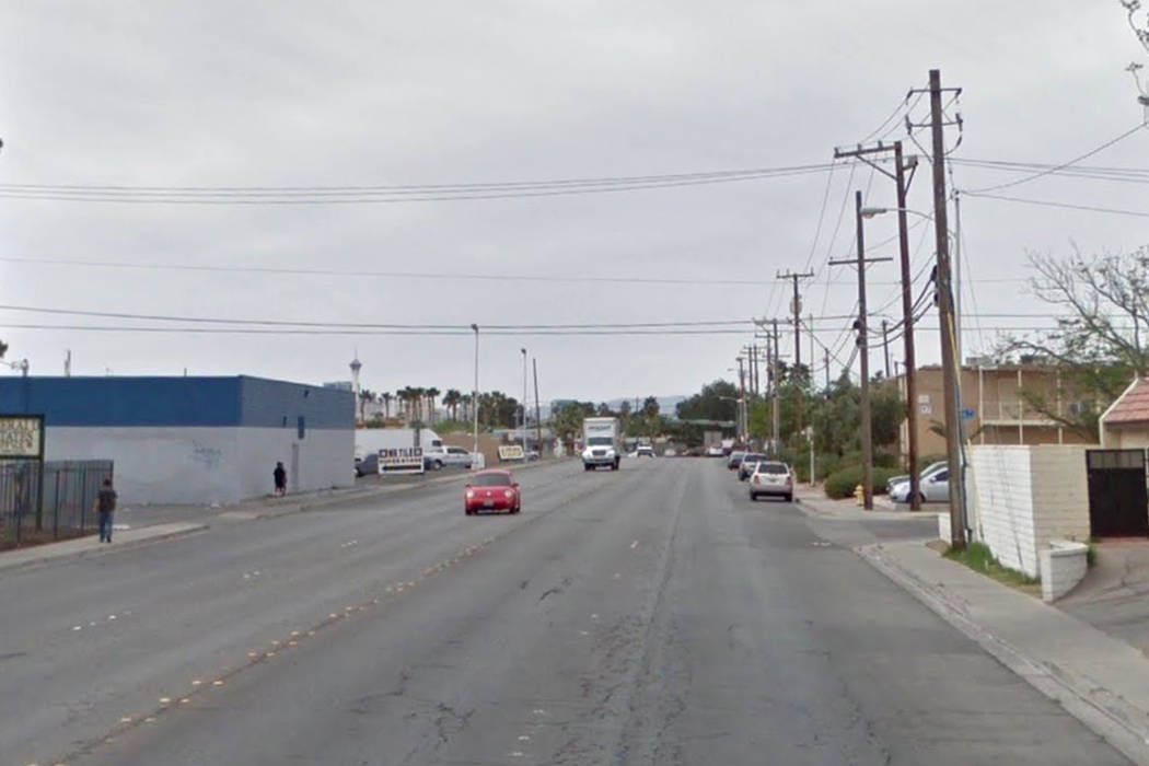 Police said the shooting happened on the 3300 block of Civic Center Drive, shown here on Google Street View.
