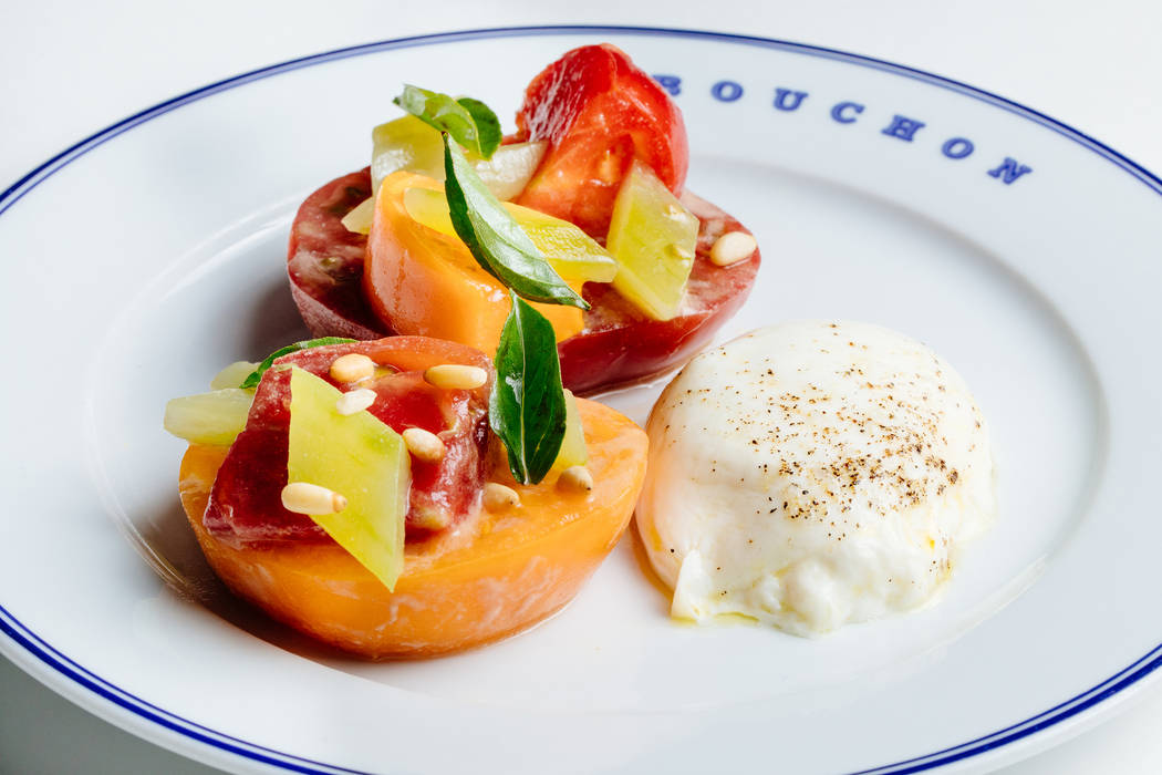 Tomato Salad from Buchon. Buchon