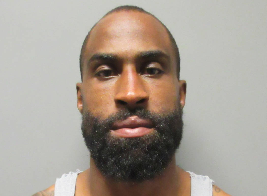 This July 8, 2018, file photo provided by the La Verne (Calif.) Police Department shows Brandon Browner. (La Verne Police Department via AP, file)