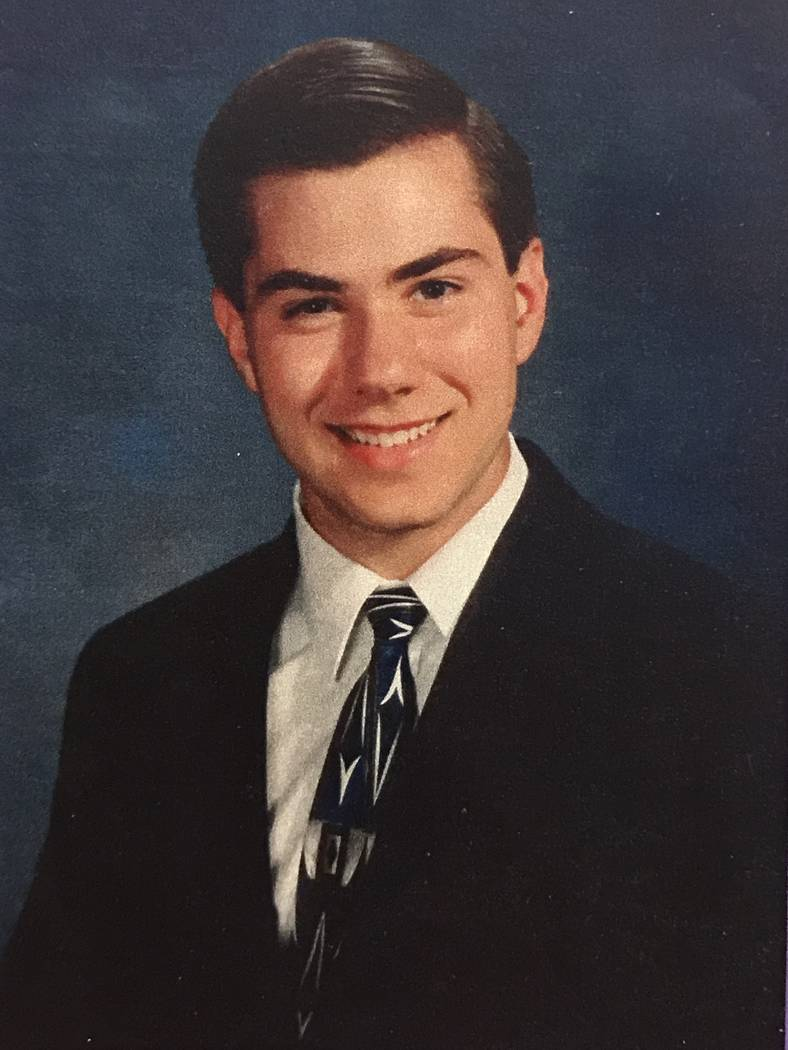 Jeremiah Miller is shown in a portrait obtained through Clark County District Court's evidence vault. Miller was killed by Scott Dozier in 2002. (Clark County District Court)